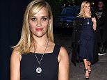 Celebrities are seen outside the Tiffany & Co. 2015 Blue Book Collection party in New York City, NY.  Pictured: Reese Witherspoon Ref: SPL1000592  150415   Picture by: Thelonius / Splash News  Splash News and Pictures Los Angeles: 310-821-2666 New York: 212-619-2666 London: 870-934-2666 photodesk@splashnews.com
