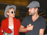 Who says romance is dead? Joshua Jackson picks up his partner Diane Kruger at LAX after a flight and brings his lady love flowers.   April 15, 2015 X17online.com