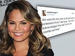 SANTA MONICA, CA - APRIL 7:  Chrissy Teigen at the 2015 Billboard Music Awards Finalists Press Conference at Twitter on April 7, 2015 in Santa Monica, California. \nCAP/MPI/PGSK\n©PGSK/MediaPunch/Capital Pictures