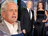 Michael Douglas and Catherine Zeta-Jones attend the Phoenix House Public Service Award Dinner at Cipriani 42nd Street on January 29, 2015 in New York City.  \n\n(Photo by Grant Lamos IV/Getty Images)