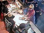 chipotle hillary clinton Caption: Clinton ordered a chicken burrito bowl, per Wright. Maumee is just outside Toledo. She was there around 1:20.