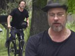 EXCLUSIVE: Brad Pitt goes door-to-door on a bicycle in the Lower Ninth Ward, New Orleans. The Hollywood star and humanitarian checked in on his 'Make It Right' foundation housing in the area worst hit by Hurricane Katrina. Pitt can be seen greeting an elderly resident and posing for photos in between bike rides around houses. In recent weeks, Pitt has allegedly taken legal action against some of his building suppliers for rotten wood. \n\nPictured: Brad Pitt\nRef: SPL1000262  170415   EXCLUSIVE\nPicture by: Splash News\n\nSplash News and Pictures\nLos Angeles: 310-821-2666\nNew York: 212-619-2666\nLondon: 870-934-2666\nphotodesk@splashnews.com\n
