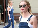Kate Bosworth checks out of her hotel wearing overalls in Tribeca downtown New York City.\n\nPictured: kate bosworth\nRef: SPL1000566  160415  \nPicture by: Turgeon-Abbot / Splash News\n\nSplash News and Pictures\nLos Angeles: 310-821-2666\nNew York: 212-619-2666\nLondon: 870-934-2666\nphotodesk@splashnews.com\n