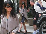 Mandatory Credit: Photo by Startraks Photo/REX Shutterstock (4672024a)\n Alec Baldwin and Hilaria Baldwin\n Alec Baldwin out and about, New York, America - 16 Apr 2015\n \n