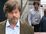 EXCLUSIVE: Brad Pitt dons a brown suit for scenes in The Big Short filming in New Orleans, Louisiana.  Pictured: Brad Pitt Ref: SPL1000272  150415   EXCLUSIVE Picture by: Splash News  Splash News and Pictures Los Angeles: 310-821-2666 New York: 212-619-2666 London: 870-934-2666 photodesk@splashnews.com