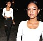 Karrueche Tran arrives to host a night at Supper Club with her entourage in tow.\n\nPictured: Karrueche Tran\nRef: SPL986126  100415  \nPicture by: TwisT / Splash News\n\nSplash News and Pictures\nLos Angeles: 310-821-2666\nNew York: 212-619-2666\nLondon: 870-934-2666\nphotodesk@splashnews.com\n