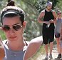Picture Shows: Matthew Paetz, Lea Michele  April 04, 2015\n \n 'Glee' actress Actress Lea Michele and her boyfriend Matthew Paetz spotted out for a hike with a friend at the TreePeople Park in Studio City, California. Lea has been busy filming the new shot 'Scream Queens' in New Orleans. \n \n EXCLUSIVE All Rounder\n UK RIGHTS ONLY\n Pictures by : FameFlynet UK © 2015\n Tel : +44 (0)20 3551 5049\n Email : info@fameflynet.uk.com