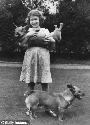 The Queen has loved corgis from a very young age and the loss of 13-year-old Monty will hit Her Majesty hard