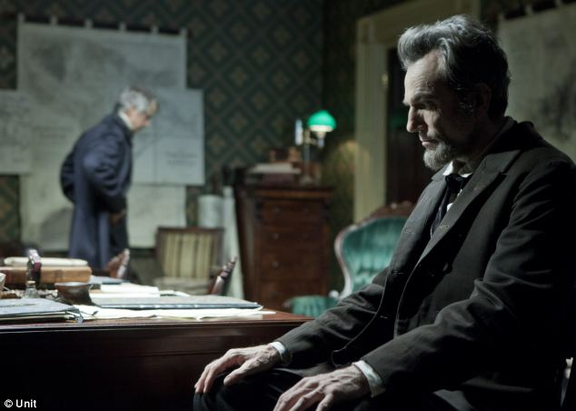 Star: The actor, who grew up in south London, won the Best Actor Oscar for his role in Lincoln, pictured