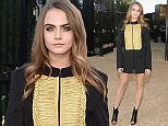 """LOS ANGELES, CA - APRIL 16: Model Cara Delevingne attends the Burberry """"London in Los Angeles"""" event at Griffith Observatory on April 16, 2015 in Los Angeles, California.  (Photo by Stefanie Keenan/Getty Images for Burberry)"""