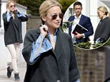14.APRIL.2015 - LONDON - UK *** EXCLUSIVE ALL ROUND PICTURES - DOUBLE SPACE RATES APPLY TO GERMAN CLIENTS ONLY *** *** STRICTLY NOT AVAILABLE FOR USE IN AUSTRALIA AND THE UK *** *** STRICTLY NOT AVAILABLE FOR MAIL ONLINE AND ANY ONLINE SUBSCRIPTION DEALS UNLESS FEE AGREED PRIOR TO USAGE*** AFTER HER DIVORCE FROM MATT BELLAMY IT LOOKS LIKE KATE IS MOVING ON WITH HER LIFE AND HAS DECIDED TO FIND A NEW BASE FOR HERSELF IN LONDON AS SHE WAS SPOTTED LOOKING AT NEW MULTI MILLION POUND PROPERTIES IN LONDON. KATE WAS ACCOMPANIED BY THE ESTATE AGENT ( IN THE NAVY SUIT), HER LADY ASSISTANT WHO TRAVELLED FROM LA  WITH HER AND A MALE MYSTERY FRIEND WHO JOINED HER ON HER SEARCH IN LONDON. KATE WAS ALL SMILES AS SHE LOOKED AROUND THE DIFFERENT PROPERTIES. BYLINE MUST READ : XPOSUREPHOTOS.COM ***UK CLIENTS - PICTURES CONTAINING CHILDREN PLEASE PIXELATE FACE PRIOR TO PUBLICATION *** **UK CLIENTS MUST CALL PRIOR TO TV OR ONLINE USAGE PLEASE TELEPHONE 0208 344 2007**