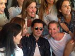 US & UK CLIENTS MUST ONLY CREDIT KDNPIX Orlando Bloom in Miami with some friends. The actor lunch in Miami restaurant and some girls want the selfie with him in the restaurant. After lunch Orlando visit a nice South beach mansion for rent and shop sports shoes in the area.  Pictured: Orlando Bloom  Ref: SPL1002209  170415   Picture by: KDNPIX  Splash News and Pictures Los Angeles: 310-821-2666 New York: 212-619-2666 London: 870-934-2666 photodesk@splashnews.com