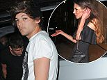 18 Apr 2015 - LONDON - ENGLAND  LOUIS TOMLINSON PARTIES AT LIBERTINE TILL THE EARLY HOURS OF SATURDAY MORNING BEFORE LEAVING IN HIS BOX VAN WITH SOME GIRLS BUT UNFORTUNATE FOR ONE UNLUCKY GIRL IN THE GROUP WHO WAS LEFT BEHIND DEVASTATED AS THERE WAS NO ROOM FOR HER BYLINE MUST READ : XPOSUREPHOTOS.COM  ***UK CLIENTS - PICTURES CONTAINING CHILDREN PLEASE PIXELATE FACE PRIOR TO PUBLICATION ***  **UK CLIENTS MUST CALL PRIOR TO TV OR ONLINE USAGE PLEASE TELEPHONE   44 208 344 2007 **