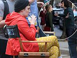 """Picture Shows: Lena Dunham  April 17, 2015    Stars film scenes for the critically acclaimed HBO show """"Girls"""" in New York City, New York.    Non-Exclusive  UK RIGHTS ONLY    Pictures by : FameFlynet UK © 2015  Tel : +44 (0)20 3551 5049  Email : info@fameflynet.uk.com"""