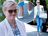 Reese Witherspoon heading to a studio in West Hollywood, CA on April 17, 2015. The actress was seen carrying two cup of green juice, as she loves green juice.\n\nPictured: Reese Witherspoon\nRef: SPL996791  170415  \nPicture by: PSD / Splash News\n\nSplash News and Pictures\nLos Angeles: 310-821-2666\nNew York: 212-619-2666\nLondon: 870-934-2666\nphotodesk@splashnews.com\n