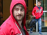 NEW YORK, NY - APRIL 17:  Daniel Radcliffe seen on April 17 , 2015 in New York City.  (Photo by Charles Bladen/GC Images)
