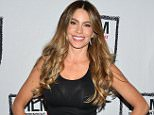 """LOS ANGELES, CA - APRIL 16:  Sofia Vergara performs at the Film Independent at LACMA Live Read of """"Major League"""" at Bing Theatre At LACMA on April 16, 2015 in Los Angeles, California.  (Photo by Araya Diaz/WireImage)"""