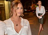 Ferne McCann Arriving for a meal at Rosso Restaurant, Manchester with friends after having been to the NSL at the Phones 4 U arena in Manchester. A fan asked for a photo with her and her reponse was do you mind can you stop doing that.\n\nPictured: Ferne Mccann\nRef: SPL992227  180415  \nPicture by: KASR\n\nSplash News and Pictures\nLos Angeles: 310-821-2666\nNew York: 212-619-2666\nLondon: 870-934-2666\nphotodesk@splashnews.com\n