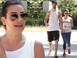 """Picture Shows: Matthew Paetz, Lea Michele  April 18, 2015\n \n """"Glee"""" star Lea Michele and her boyfriend Matthew Paetz go for a hike at TreePeople park in Beverly Hills, California. Lea took a break from her busy schedule of acting and recording her album to enjoy a Saturday morning hike with her boyfriend.\n \n Non Exclusive\n UK RIGHTS ONLY\n \n Pictures by : FameFlynet UK © 2015\n Tel : +44 (0)20 3551 5049\n Email : info@fameflynet.uk.com"""