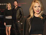 DETROIT, MI - APRIL 16:  Model Kate Upton and baseball player Justin Verlander attend John Varvatos Detroit Store Opening Party hosted by Chrysler on April 16, 2015 in Detroit, Michigan.  (Photo by Duane Prokop/Getty Images for John Varvatos)