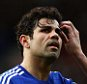 Diego Costa of Chelsea took his gloves off for the second half