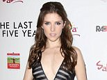 Mandatory Credit: Photo by Matt Baron/BEI/REX Shutterstock (4428222l).. Anna Kendrick.. 'The Last 5 Years' film premiere, Los Angeles, America - 11 Feb 2015.. ..