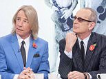 EDITORIAL USE ONLY / NO MERCHANDISING  Mandatory Credit: Photo by Ken McKay/ITV/REX Shutterstock (4225674aa)  Status Quo - Rick Parfitt and Francis Rossi  'Loose Women' TV Programme, London, Britain. - 28 Oct 2014