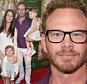 """LOS ANGELES, CA - APRIL 12: (L-R) Erin Kristine Ludwig, actor Ian Ziering and their daughters Mia Loren Ziering and Penna Mae Ziering attend the world premiere Of Disney's """"Monkey Kingdom"""" at Pacific Theatres at The Grove on April 12, 2015 in Los Angeles, California.  (Photo by Charley Gallay/Getty Images for Disney)"""