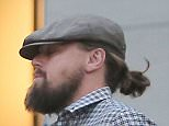 ***MANDATORY BYLINE TO READ INFPhoto.com ONLY*** Leonardo Dicaprio tries to hide under his cap while out for some retail therapy on Madison Avenue in New York city today.  infusny-198  Pictured: Leonardo Dicaprio Ref: SPL1003316  180415   Picture by: INFphoto.com