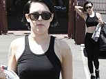 "Rumor Wiilis, dressed in a tight black dance outfit and Patti LaBelle arrive for ""Dancing With The Stars"" Rehearsal in Los Angeles\n\nPictured: Rumor Wiliis\nRef: SPL998344  180415  \nPicture by: MAP  / Splash News\n\nSplash News and Pictures\nLos Angeles: 310-821-2666\nNew York: 212-619-2666\nLondon: 870-934-2666\nphotodesk@splashnews.com\n"