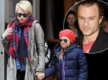 Mandatory Credit: Photo by Buzz Foto/REX Shutterstock (2202273a)\nMichelle Williams and daughter Matilda Rose Ledger\nMichelle Williams out and about, New York, America - 06 Mar 2013\nMichelle Williams and daughter Matilda seen leaving Restoration Hardware in the Flat Iron District.\n
