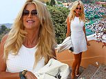 April 18, 2015 - Monaco, MONACO - Victoria Silvsted during day seven of the Monte Carlo Rolex Masters   Pictured: Victoria Silvsted Ref: SPL1003047  180415   Picture by: Crystal / Splash News  Splash News and Pictures Los Angeles: 310-821-2666 New York: 212-619-2666 London: 870-934-2666 photodesk@splashnews.com