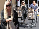 EXCLUSIVE: Evan Ross and pregnant Ashlee Simpson go grocery shopping at Pavillions in Los Angeles.\n\nPictured: Ashlee Simpson and Evan Ross\nRef: SPL1001528  180415   EXCLUSIVE\nPicture by: TwisT / Splash News\n\nSplash News and Pictures\nLos Angeles: 310-821-2666\nNew York: 212-619-2666\nLondon: 870-934-2666\nphotodesk@splashnews.com\n