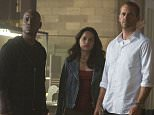 No Merchandising. Editorial Use Only. No Book Cover Usage.. Mandatory Credit: Photo by Everett/REX Shutterstock (4604658o).. Tyrese Gibson, Michelle Rodriguez, Paul Walker, Ludacris.. 'Furious 7' aka Fast & Furious 7 - 2015.. ..