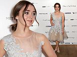 """LONDON, ENGLAND - APRIL 20:  Actress Maisie Williams attends the London gala screening of """"The Falling"""" at Ham Yard Hotel on April 20, 2015 in London, England.  (Photo by Ian Gavan/Getty Images)"""