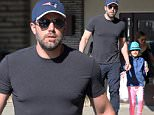 """Picture Shows: Ben Affleck, Seraphina Affleck  April 19, 2015\n \n Actor and busy dad Ben Affleck stops by the farmer's market in Pacific Palisades, California with his daughter Seraphina. According to recent emails published online by the whistleblower site WikiLeaks, it was revealed that Ben asked the PBS show """"Finding Your Roots"""" to not reveal he had a slave-owning ancestor. \n \n Non-Exclusive\n UK RIGHTS ONLY\n \n Pictures by : FameFlynet UK © 2015\n Tel : +44 (0)20 3551 5049\n Email : info@fameflynet.uk.com"""