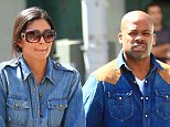Damon Dash is spotted together with Rachel Roy and daughter Ava out in NYC.....Pictured: Damon Dash, Rachel Roy and daughter Ava....Ref: SPL180462  150510  ..Picture by: Jackson Lee / Splash News....Splash News and Pictures..Los Angeles:\t310-821-2666..New York:\t212-619-2666..London:\t870-934-2666..photodesk@splashnews.com..