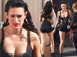 Hollywood, CA - Actress Demi Moore and her former mother-in-law Marlene Willis visit the DWTS studios to cheer on Rumer's performance. The young contestant looked fierce wearing a black sheer dancing outfit with black daisy dukes, as she finished getting ready inside a trailer.\nAKM-GSI    April 20, 2015\nTo License These Photos, Please Contact :\nSteve Ginsburg\n(310) 505-8447\n(323) 423-9397\nsteve@akmgsi.com\nsales@akmgsi.com\nor\nMaria Buda\n(917) 242-1505\nmbuda@akmgsi.com\nginsburgspalyinc@gmail.com