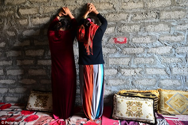 The names of Yazidi women were selected from a lottery for men to rape, a survivor told the charity