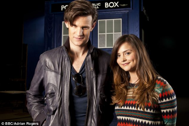 The latest Doctor Who Matt Smith, with sidekick Jenna-Louise Coleman