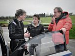 Programme Name: Top Gear - TX: 08/03/2015 - Episode: n/a (No. 7) - Picture Shows: World Rallycross James May, Richard Hammond, Jeremy Clarkson - (C) BBC Worldwide Limited - Photographer: Ellis O'Brien