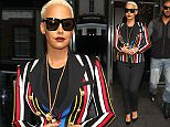 Mandatory Credit: Photo by Beretta/Sims/REX Shutterstock (4700405e)\n Amber Rose\n Amber Rose out and about, London, Britain - 22 Apr 2015\n \n