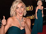 """WEST HOLLYWOOD, CA - APRIL 21:  Julianne Hough arrives at the 10th Anniversary Of """"Dancing With The Stars"""" Party at Greystone Manor on April 21, 2015 in West Hollywood, California.  (Photo by Steve Granitz/WireImage)"""