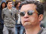 Mandatory Credit: Photo by Startraks Photo/REX Shutterstock (4700443e)\n Orlando Bloom\n Orlando Bloom out and about, New York, America - 22 Apr 2015\n Actor Orlando Bloom leaves Da Silvano Restaurant\n