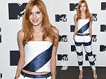 NEW YORK, NY - APRIL 21:  Bella Thorne attends the MTV 2015 Upfront presentation on April 21, 2015 in New York City.  (Photo by Jamie McCarthy/Getty Images for MTV)