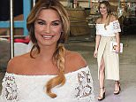 Mandatory Credit: Photo by REX Shutterstock (4695994j)  Sam Faiers  Celebrities at the ITV studios, London, Britain - 22 Apr 2015