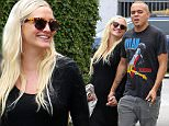 EXCLUSIVE TO INF.\nApril 21, 2015: Ashlee Simpson and Evan Ross step out  today in Los Angeles, California.\nMandatory Credit: Lek/INFphoto.com Ref: infusla-298