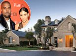 """06.AUGUST.2014 - LOS ANGELES - USA\\n\\n**** STRICTLY NOT AVAILABLE FOR USA ***\\n\\nKim Kardashian and Kanye West Buy $20 Million Dream Home Near Kris Jenner. The couple reportedly just opened escrow on a stunning $20 million mansion located in the same neighborhood as momager Kris Jenner's family home - and are now said to be selling their $11 million home in Bel-Air after they purchased the dream pad last year. One insider said: """"It is way more private and secure with a whole security home above. They wanted more land than the Bel-Air home, so they are flipping that and will have the two homes now. But they will sell that and move into Hidden Hills."""" The 8,000 sq ft Hidden Hills estate was formerly owned by Lisa Marie Presley. The luxurious French country-style home includes a vineyard and sits on three acres in the hills of Calabasas. The kitchen has not one, not two, but three islands and attaches to a comfortable family room. The master bathrooms ó one for each of them ó have st"""