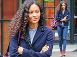 Picture Shows: Thandie Newton  April 22, 2015    'Westworld' actress Thandie Newton seen leaving The Bowery Hotel in New York City, New York. Thandie has been getting herself back to work after spending the first part of the month on a vacation in Mexico.     Non-Exclusive  UK RIGHTS ONLY    Pictures by : FameFlynet UK © 2015  Tel : +44 (0)20 3551 5049  Email : info@fameflynet.uk.com