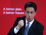 Britain's Labour Party leader Ed Miliband gestures during a speech on immigration at a campaign event in Pensby northern England, April 18 , 2015.  REUTERS/Phil Noble